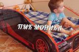 Детская кроватка бугатти